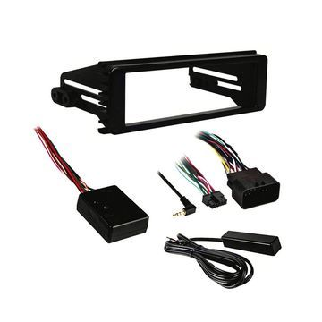 Metra 99-9613 1-DIN Radio Dash Kit for 1998-2013 Harley Davidson FL Motorcycles