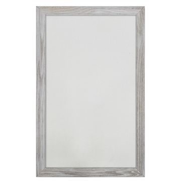 White Framed Wall Pinboard by Ashland