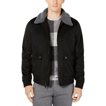 Ryan Seacrest Distinction Mens Aviator Lightweight Warm Bomber Jacket