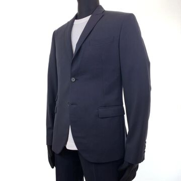 Neil Barrett Navy Wool Suits