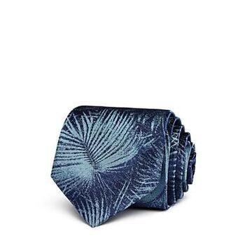 John Varvatos Star Usa Palm-Leaf Classic Silk Tie