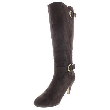 Bella Vita Womens Toni II Over-The-Knee Boots Buckle Fashion