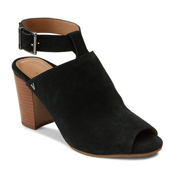 Vionic Women's Perk Kaia Heel - Ladies Peep Bootie Stacked