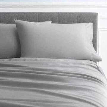 allen + roth King Cotton Bed-Sheet in Gray   JJ-ICSSK04