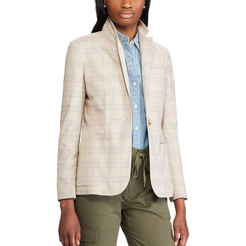 Women's Chaps Plaid Blazer