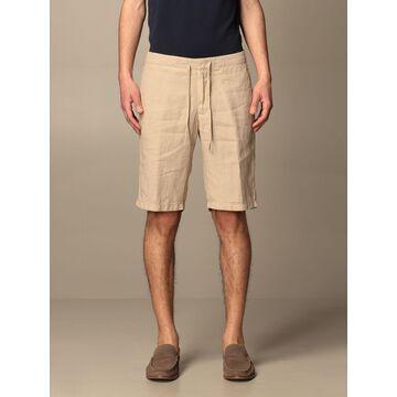 Z Zegna linen jogging shorts
