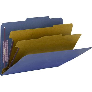 Smead PressGuard Classification Folders with SafeSHIELD Coated Fastener Technology - Legal - 8 1/2
