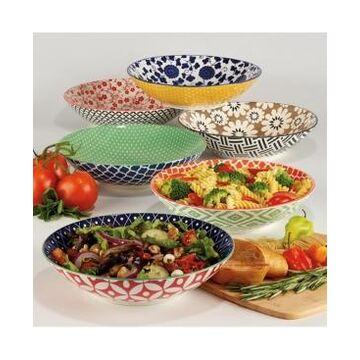 Certified International Soho Set of 6 Dinner Bowls