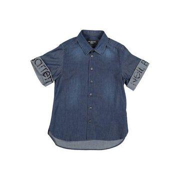 NEIL BARRETT Denim shirt