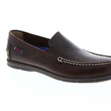 Sebago Litesides Dark Brown Mens Casual Loafers & Slip Ons