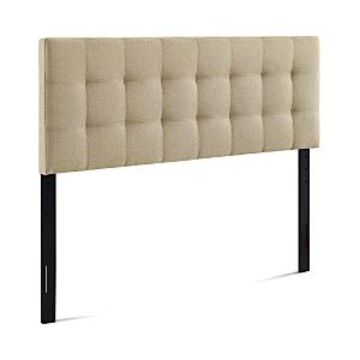 Modway Lily Upholstered Fabric Headboard, Queen