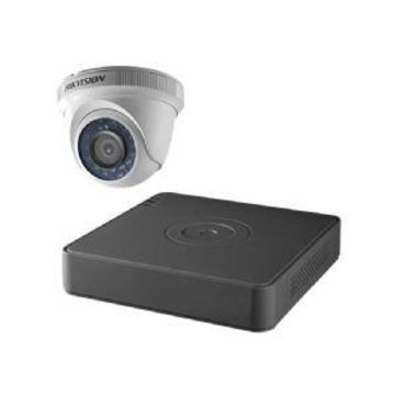 HIKvision 4-CH TURBO HD/ANALOG DVR OUTDOOR TURRET