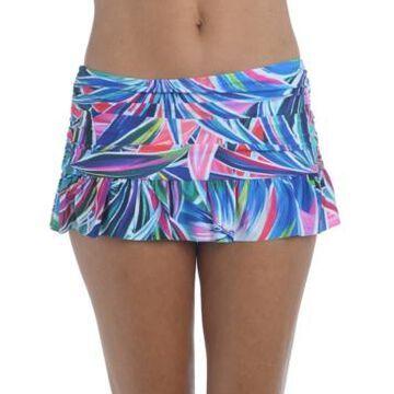 La Blanca Printed Hipster Swim Skirt Women's Swimsuit