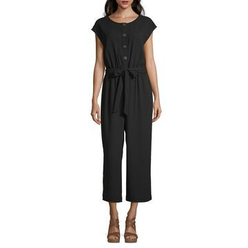 Worthington Short Sleeve Jumpsuit