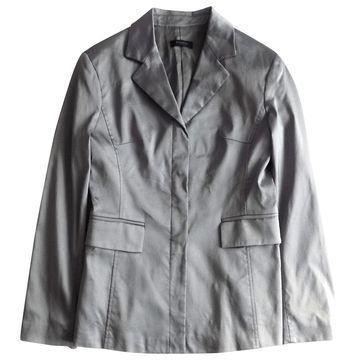Pinko Silver Viscose Jackets