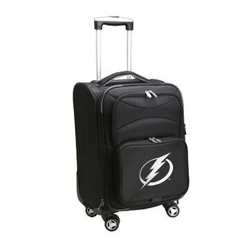NHL Tampa Bay Lightning 20-Inch Carry On Spinner Luggage