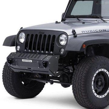 Go Rhino G26-23100T BRJ40 Stubby Black Front Winch Modular Bumper