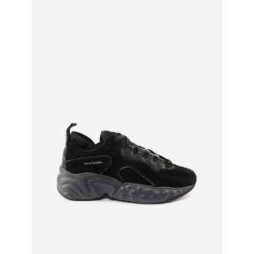 Acne Studios Manhattan Tumbled Sneakers In Suede