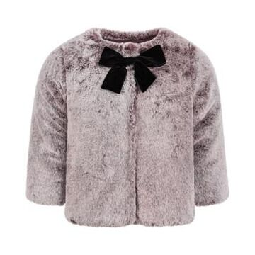 First Impressions Baby Girls Gradient Faux-Fur Coat, Created for Macy's
