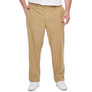 Msx By Michael Strahan-Big and Tall Mens Regular Fit Flat Front Pant