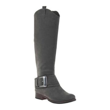 Madeline Women's Heroine Tall Boot New Pewter Synthetic/Textile