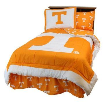 Tennessee Volunteers Bed in a Bag Twin, With Team Colored Sheets