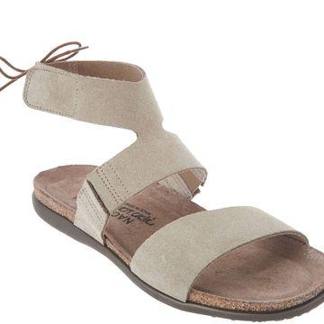 Naot Leather Tie Back Sandals - Larissa