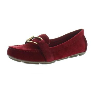 Anne Klein Womens Petra Suede Fashion Loafers