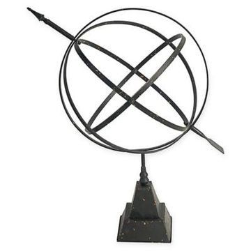 A&B Home Celestial Armillary Sphere Accent in Antique Bronze