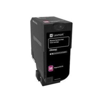 Lexmark - Magenta - original - toner cartridge LCCP - for Lexmark CS720de, CS720dte