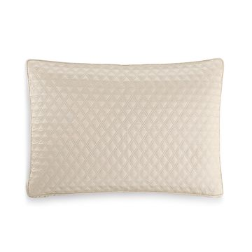 Dimensions Champagne Quilted Standard Sham, Created for Macy's