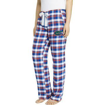 Concepts Sport Women's Florida Gators Blue/Orange Piedmont Flannel Sleep Pants