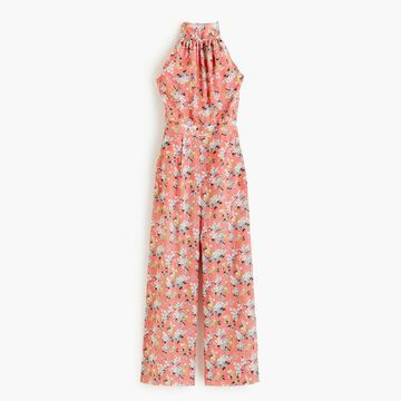 High-neck jumpsuit in Liberty& Josephine floral
