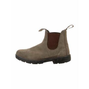 Suede Chelsea Boots Grey