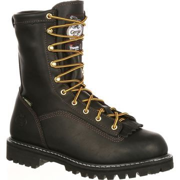 Georgia Boot Men's Insulated Lace-to-Toe Work Boot, G8040