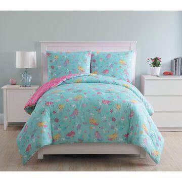 2pc Mermaid Princess Comforter Set - VCNY