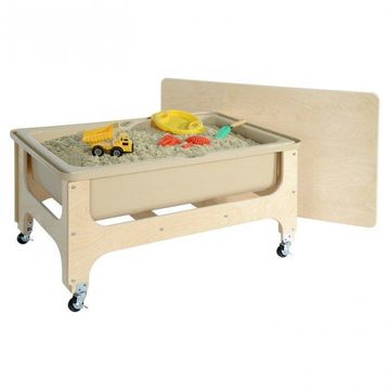 Wood Designs 11865TN Deluxe Sand & Water Table with Lid