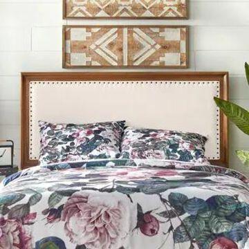 Simple Living Shaye Upholstered Queen Headboard