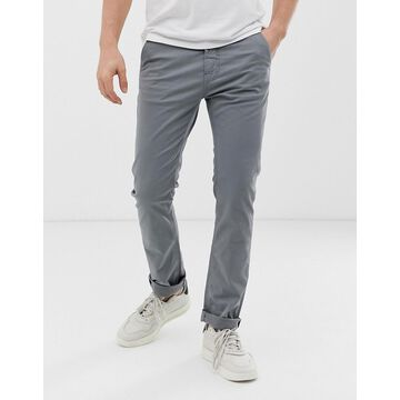 Nudie Jeans Co Slim Adam chinos in ash gray