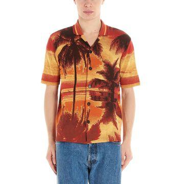 Roberto Collina palme Shirt