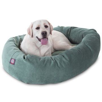 Majestic Pet Products Villa Velvet Bagel Dog Bed