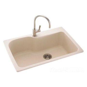 Swanstone KSSB-3322-124 Canyon Drop In Kitchen Sink