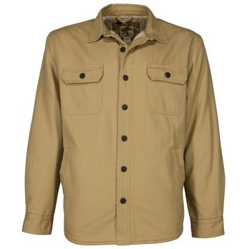RedHead® Men's Sherpa-Lined Canvas Shirt Jacket