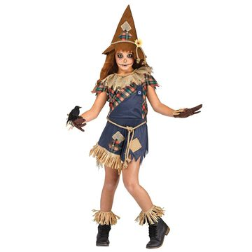 Fun World Scary Crow Child Costume-Large