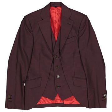 Vivienne Westwood Burgundy Wool Jackets