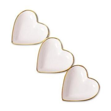Martha Stewart Collection Valentine's Day Three Heart Platter, Created for Macy's
