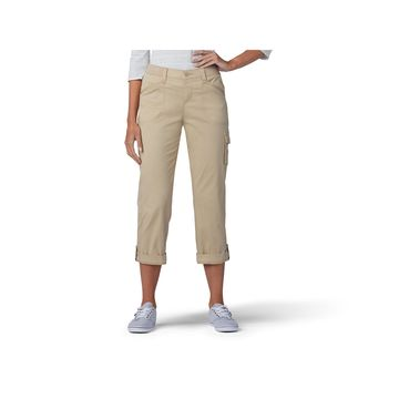 Lee Flex To Go Mid Rise Cargo Capris