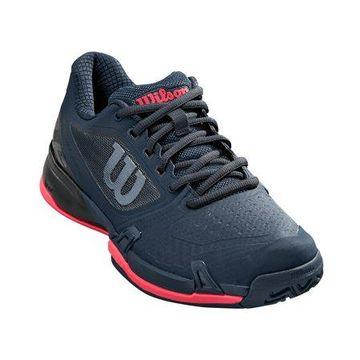 Wilson Women's Rush Pro 2.5 Tennis Shoe, Blueberry/Black/Paradise Pink