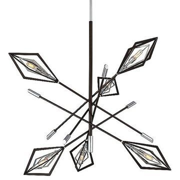 Javelin Chandelier by Troy Lighting