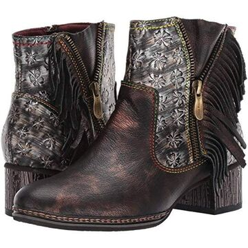 L'Artiste by Spring Step Kami (Bronze Multi) Women's Boots